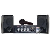 Shall complete karaoke set met bluetooth en microfoon