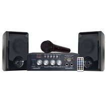 KARAOKE SET WITH USB/SD & BLUETOOTH PARTY-KA100