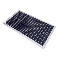 Velleman SOL30P polykristallijn zonnepaneel 30 watt 12 volt
