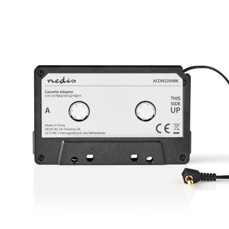 SHALL Cassette Adapter voor Ipod, Iphone, MP3 speler etc.