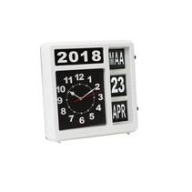 Perel WC106 analoge klok makkelijk afleesbaar dementieklok