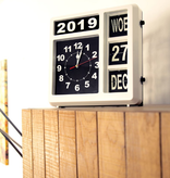 Perel Perel WC106 analoge klok makkelijk afleesbaar dementieklok