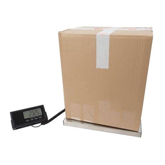 Perel Perel VTBAL502 digitale postweegschaal met afneembaar display 150 kilo