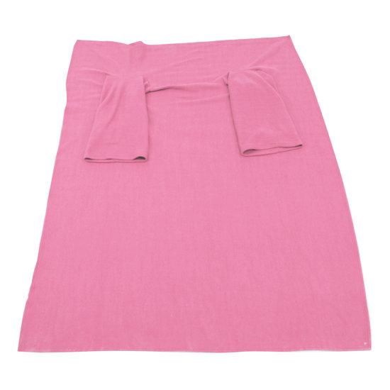 Aidapt Aidapt VM936EB fleece deken met mouwen - roze
