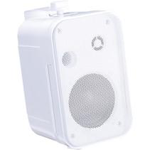 E-Audio achtergrond luidsprekers 3.5 inch 8 Ohm 100 Watt Wit