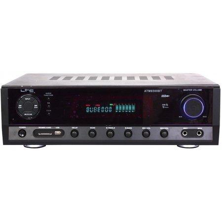 LTC Audio LTC audio ATM6500BT versterker met bluetooth USB SD en tuner