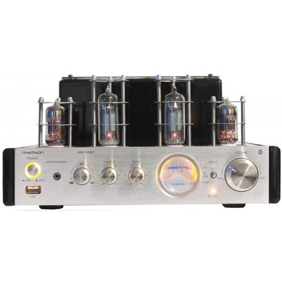 Madison Madison MAD-TA10BT stereo buizenversterker 2 x 25 watt