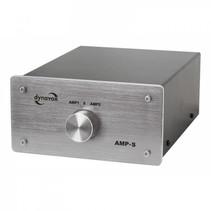 Dynavox AMP-S zilver schakelaar voor 2 versterker op 1 set speakers