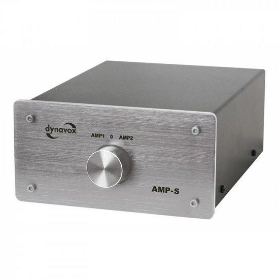 Dynavox Dynavox AMP-S zilver schakelaar voor 2 versterker op 1 set speakers