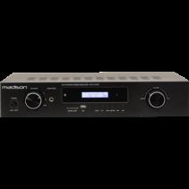 Madison MAD1400BT-BK is een HiFi stereo versterker met bluetooth
