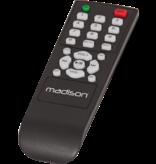 Madison Madison MAD1400BT-WH is een HiFi stereo versterker met bluetooth - wit