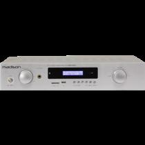 Madison MAD1400BT-WH is een HiFi stereo versterker met bluetooth - wit