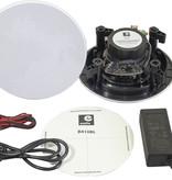 E-audio E-Audio Bluetooth Badkamer Speaker Systeem - 2x 5.25 inch plafondluidsprekers