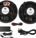 E-audio E-Audio Bluetooth Badkamer Speaker Systeem - 2x 6.5 inch plafondluidsprekers