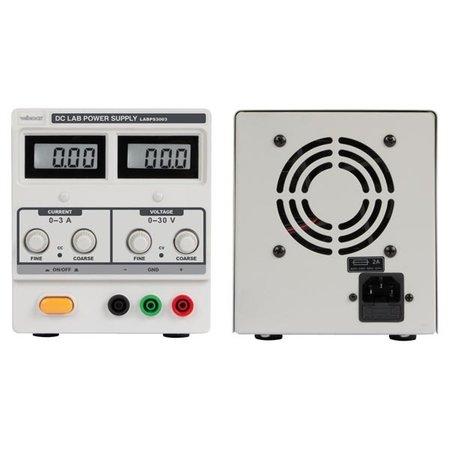 Velleman Velleman  LABPS3003 labovoeding 0 - 30 volt DC 0 - 3 ampere