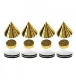 SHALL Shall SP4G spikes set van 4 stuks - goud