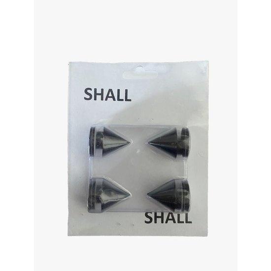 SHALL Shall SP4Z spikes set van 4 stuks - zwart