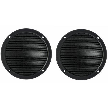 Kenford Kenford 13 cm badkamer speaker set - zwart 30 watt