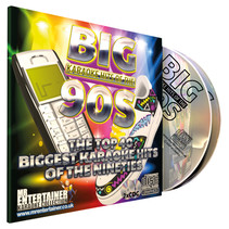 Mr entertainer karaoke CDG met 90's hits - 2 cd's