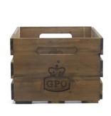 GPO GPO CASSA houten krat voor het opbergen van LP's