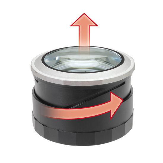 Blanko Leesloep met LED verlichting met etui