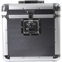 Soundlab G073GB platenkoffer zwart voor 70 platen