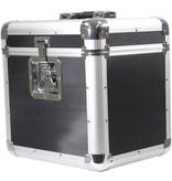 Soundlab Soundlab G073GB platenkoffer zwart voor 70 platen