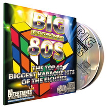 Mr entertainer karaoke CDG met 80's hits - 2 cd's
