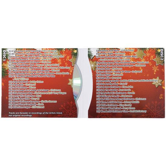 MR Entertainer Mr entertainer karaoke CDG met kerst hits - 2 cd's