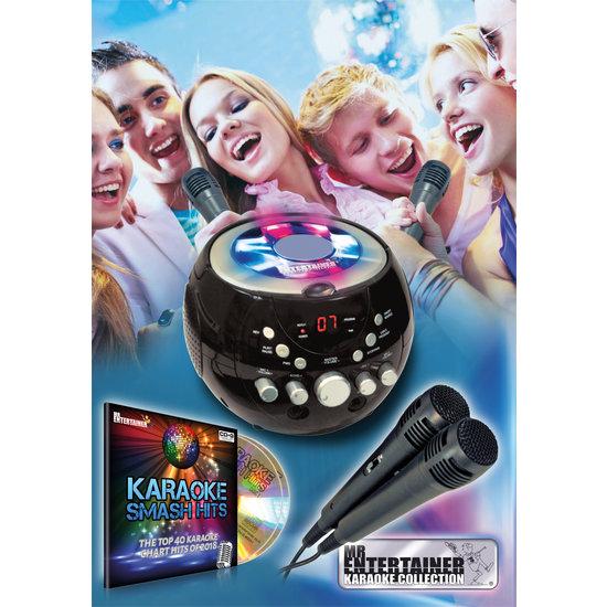 MR Entertainer Mr Entertainer KAR121 CDG karaoke machine met bluetooth