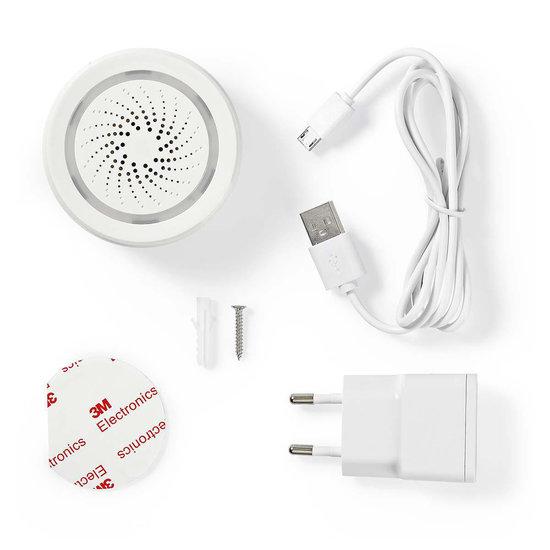 Nedis B.V. Nedis Wi-Fi smart sirene 85 dB - alarm of gong
