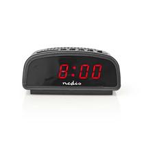 Nedis alarmklok met LED display en sluimeren