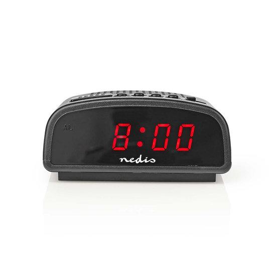 Nedis B.V. Nedis alarmklok met LED display en sluimeren