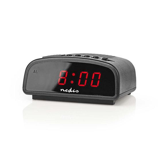 Nedis Nedis alarmklok met LED display en sluimeren