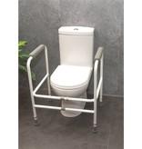 Aidapt Aidapt Toiletframe - in hoogte verstelbaar - wit