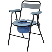 Aidapt toiletstoel po-stoel inklapbaar lichtgewicht