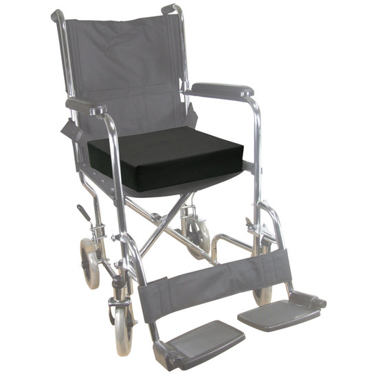 Aidapt Aidapt – rolstoel kussen – 10 cm dik – 45,7 cm breed – 40,6 cm diep – memoryfoam