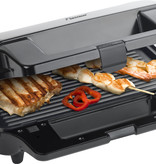 Bestron Bestron ASG90XXL contactgrill 3 in 1 RVS
