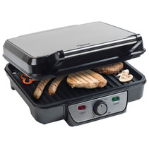 Bestron ASW318 contactgrill RVS