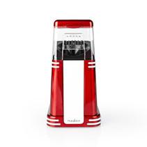 Nedis Popcornmachine rood met wit