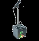 Party Party light karaoke set met LED lichteffect USB/SD & Bluetooth