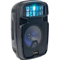 PARTY 8 inch Speaker met LED Lichteffect met ingebouwde accu