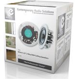 E-audio E-Audio B409A Professionele inbouw/plafondspeaker set met richtbare tweeter 13 cm 8 Ohm 80 Watt