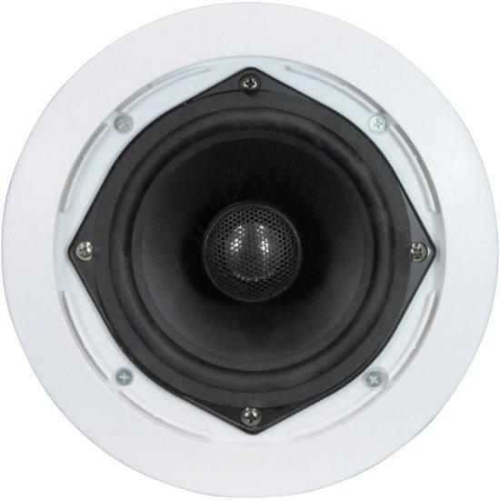 E-audio E-Audio B410A Professionele inbouw/plafondspeaker set met richtbare tweeter 16,5 cm 8 Ohm 120 Watt