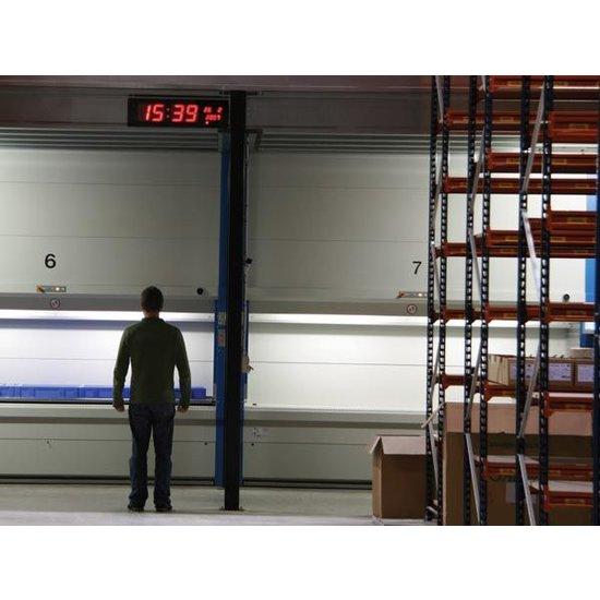 Velleman Velleman WC208 LED Wandklok met groot display 24 uursklok
