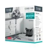 Teesa Teesa TSA8020 - Statief ventilator met afstandsbediening, zwart
