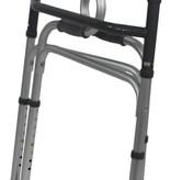 Aidapt Aidapt VP179A aluminium looprek met sta op hulp inklapbaar