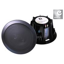 E-Audio B412AB waterbestendige zwarte plafondluidsprekers 17 cm 120 watt