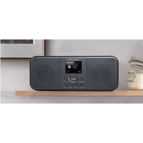 Muse Muse M-122DBT tafelradio met bluetooth en DAB+
