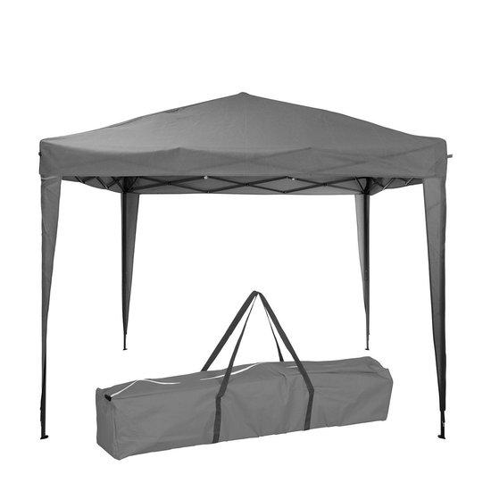 Progarden Pro Garden Easy-up Partytent  - grijs 3 x 3 meter